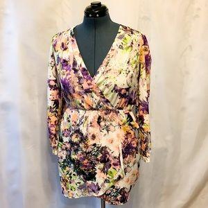 🌸2/$30🌸 Gorgeous Long Sleeve Floral Mini Dress